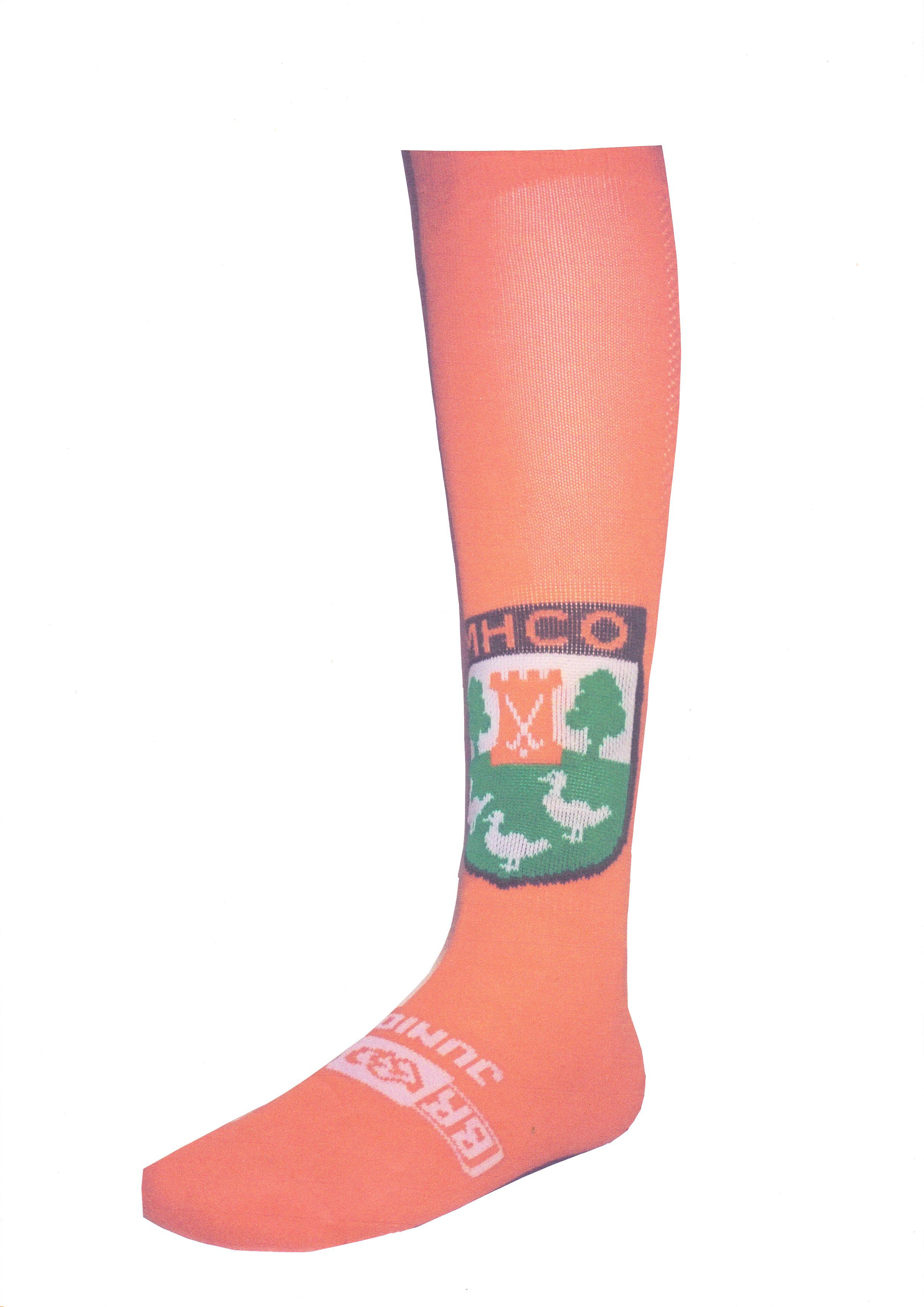 AC NIEUW! Sokken met ingeweven MHCO logo